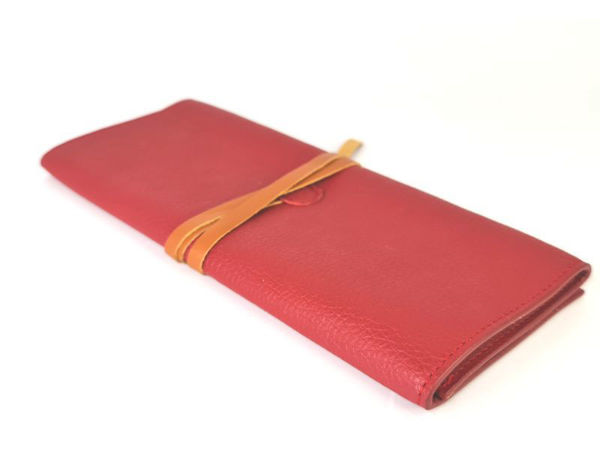 Picture of Microfiber Leather Make Up Pouch Organiser