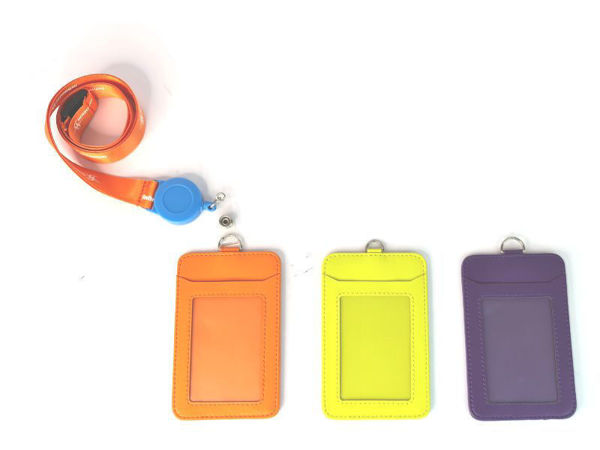 Picture of Microfiber Card Holder Lanyard