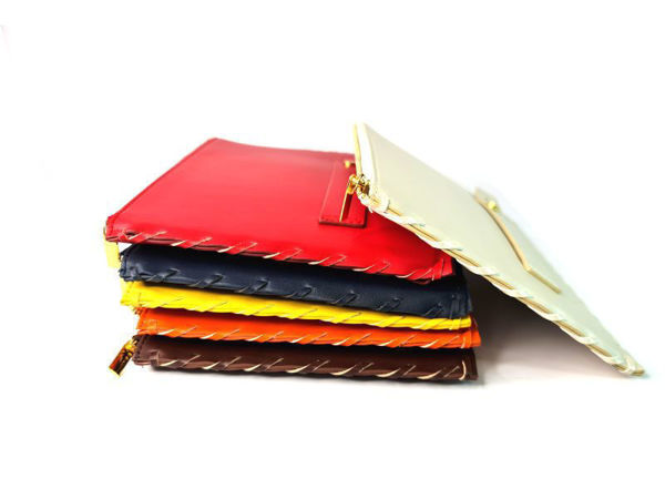 Picture of Microfiber Leather Flat Travel Organizer