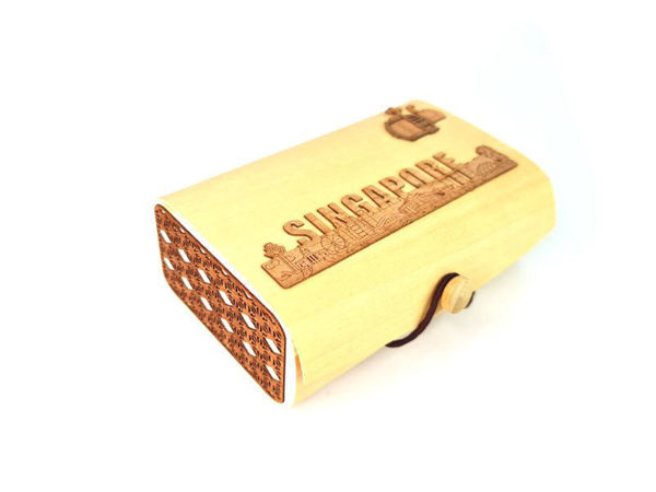 Picture of Reclaimed Wooden Card Box