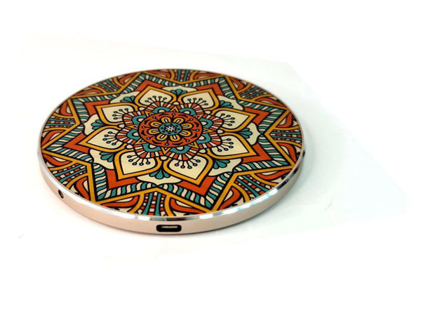 Picture of Wireless charger with Mandala Design