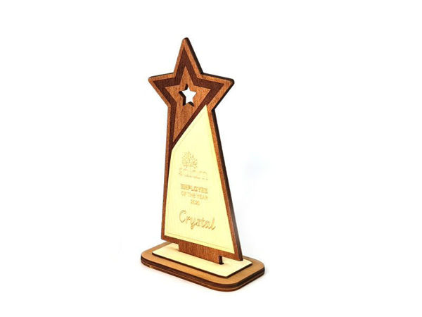 Picture of Reclaimed Wooden Trophy