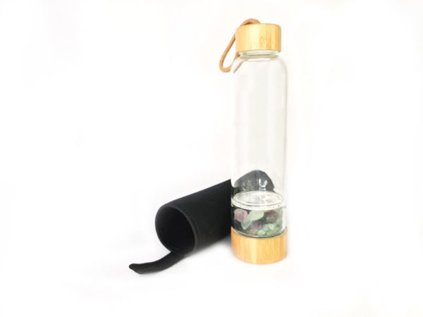 Picture of Crystal Water Glass Bottle