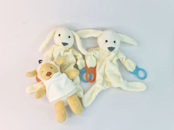 Picture of Soft Teddy with Teether