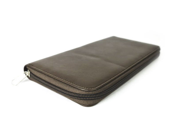 Picture of Microfiber Leather Travel Wallet