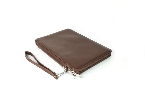 Picture of Microfiber Leather A5 Folder Business Clutch