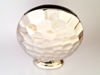 Picture of Oval Metal Decorative Vase