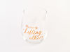 Picture of Stemless Wine Glass
