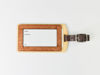 Picture of Reclaimed Wooden Luggage Tag
