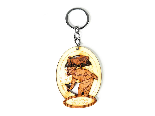 Picture of Reclaimed Wooden Key Chain