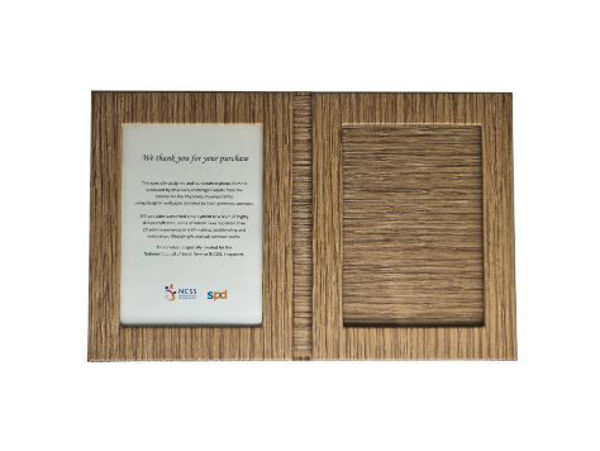 Picture of Heartgifts Foldable Double panel photo frame
