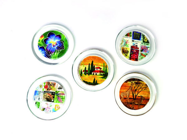 Picture of Heartgifts Unique Coasters (Set of 5)