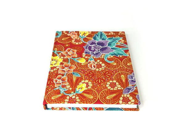 Picture of Heartgifts Batik Notebook