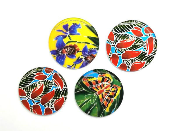 Picture of Heartgifts Colourful Coaster (set of 4)