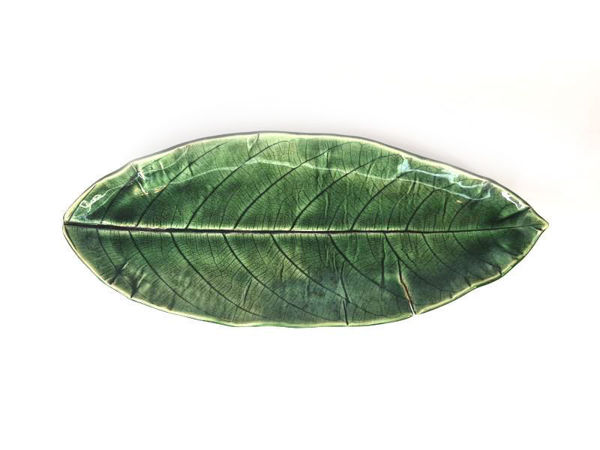 Picture of Heartgifts Big Ceramic leaf plate