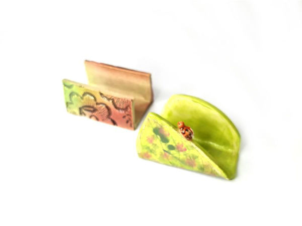 Picture of Heartgifts Ceramic Business Card Holder