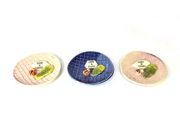 Picture of Heartgifts Handmade cute mini pattern ceramic