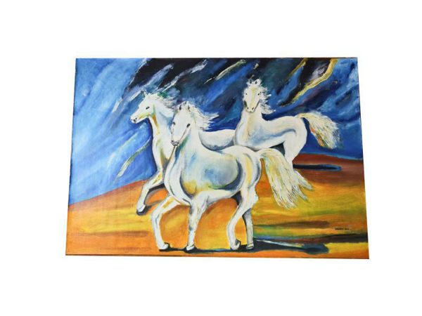 Picture of Heartgifts Horses Painting