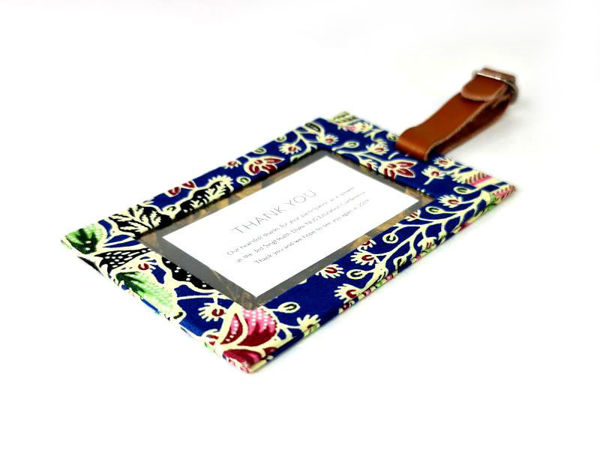 Picture of Heartgifts Batik Luggage Tag