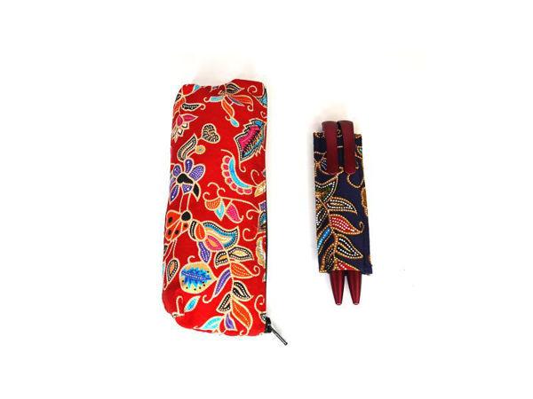 Picture of Heartgifts  Batik Pencil Case & Pen Holder Set