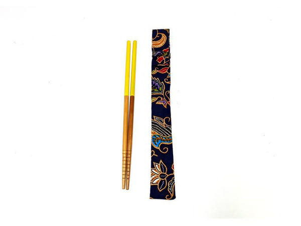 Picture of Heartgifts Batik Chopstick Set