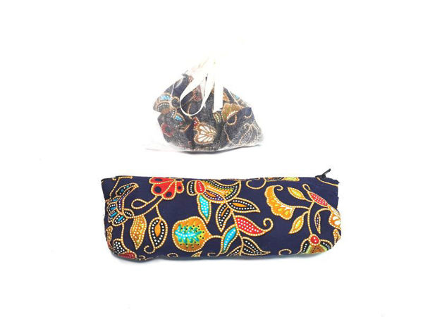 Picture of Heartgifts Batik Pencil Case & Five Stones Set