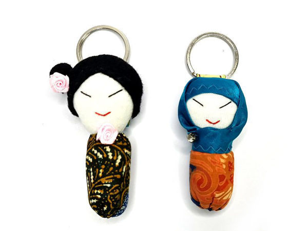 Picture of Heartgifts Doll Keychain( Set of 2)