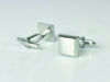 Picture of Fully Customized Classic Silver Tone Square cufflinks