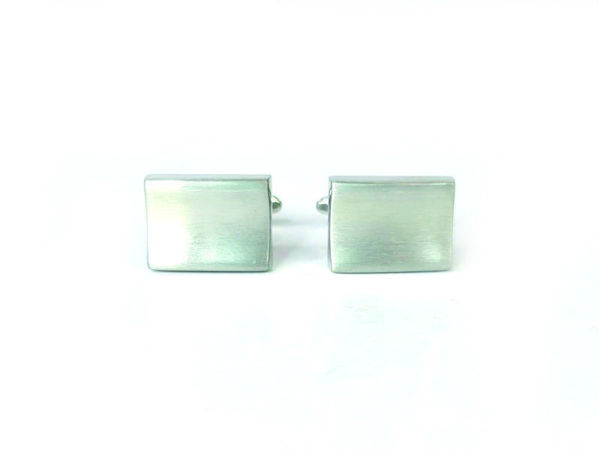 Picture of Fully Customized Silver-Tone Curved Cufflinks
