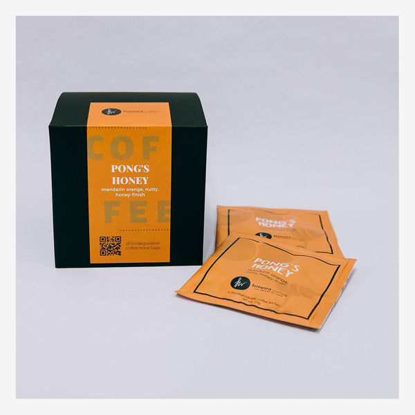 Picture of Brew Bags Box of 16 - Pong's Honey