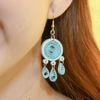 Picture of Blue Swirls Dream Earrings