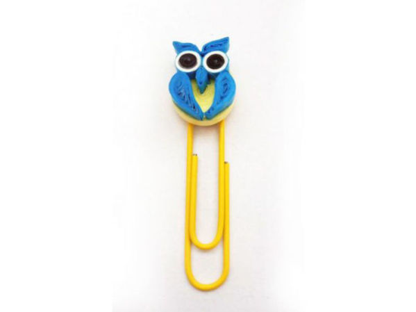 Picture of Quilled Paper Clips