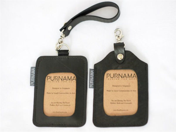 Picture of Eco Luggage Tag/ID Card Holder
