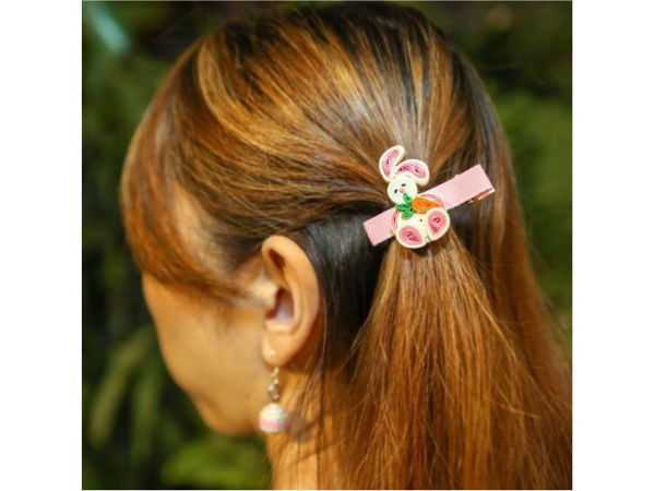 Picture of Easter Bunny Hair Clip