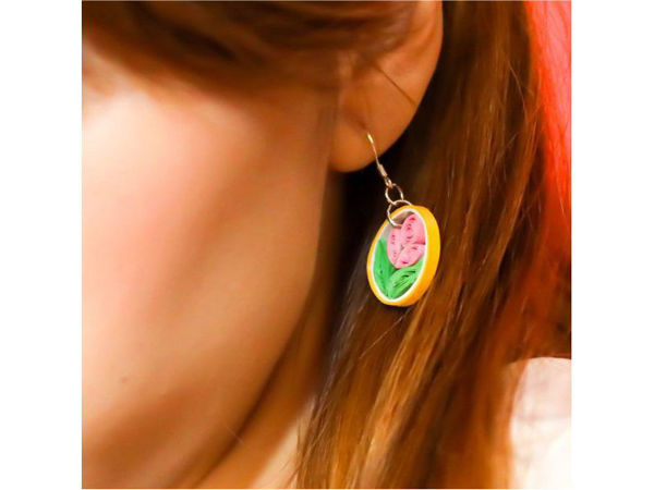 Picture of Flower Ear Rings