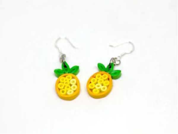 Picture of Pineapple Ear Rings