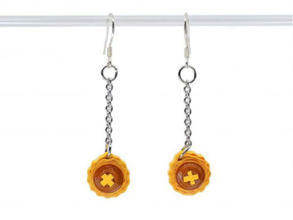 Picture of Pineapple Tart Earrings