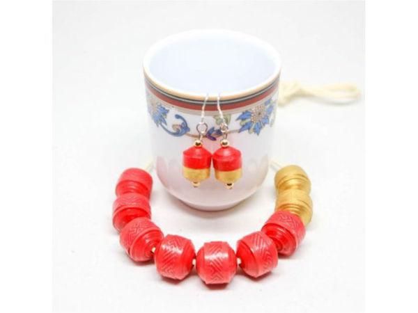 Picture of Prosperity Pendant & Earrings