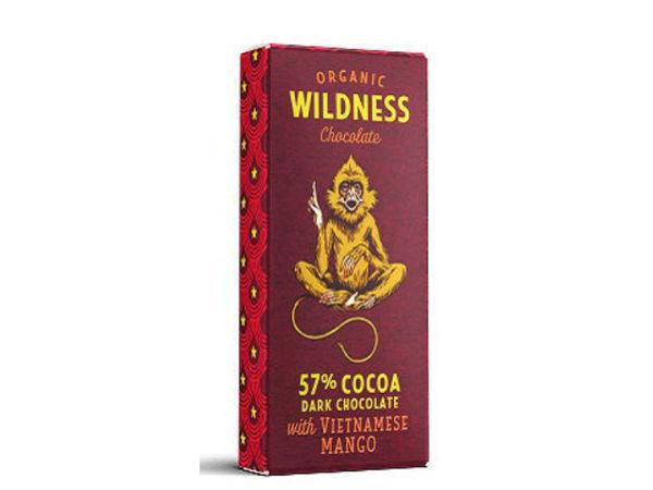 Picture of Dark organic chocolate with Mango