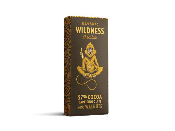 Picture of Dark organic chocolate with Walnuts