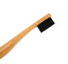 Biodegradable Bamboo Toothbrush with charcoal bristles