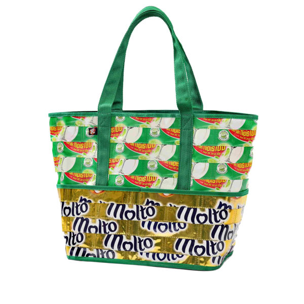 Picture of Upcycled Market Bag (plastic pouch)
