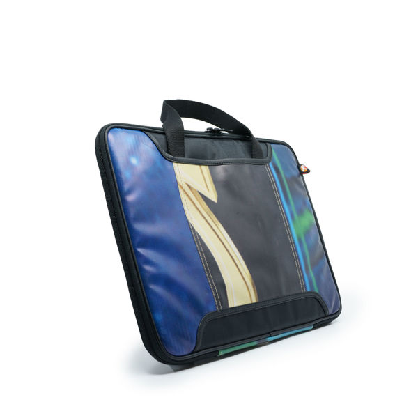 Picture of Upcycled Laptop Bag (13-inch screen) (billboard banners)