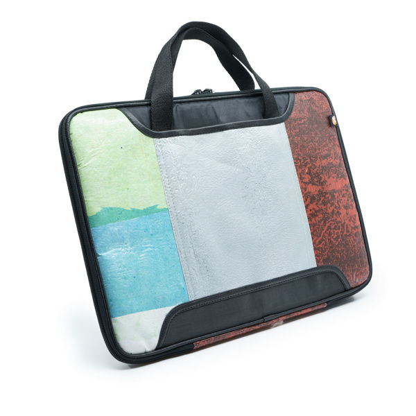 Picture of Upcycled Laptop Bag (15 -inch screen) (plastic bag)