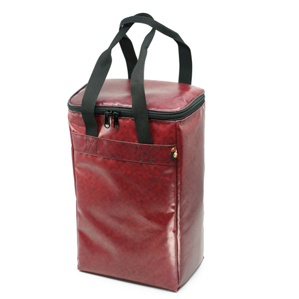 Picture of Upcycled Cooler Wine Bag (billboard banners)