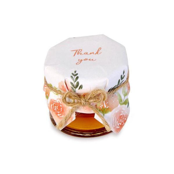 Picture of Floral Fantasy Honey Jar
