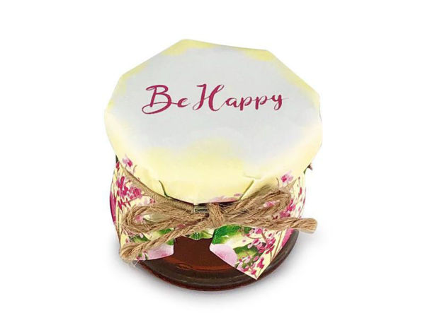 Picture of Be Happy Honey Jar