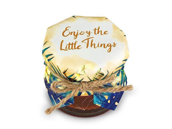 Picture of Enjoy the Little Things Honey Jar