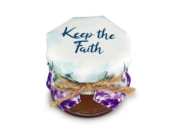 Picture of Keep The Faith Honey Jar