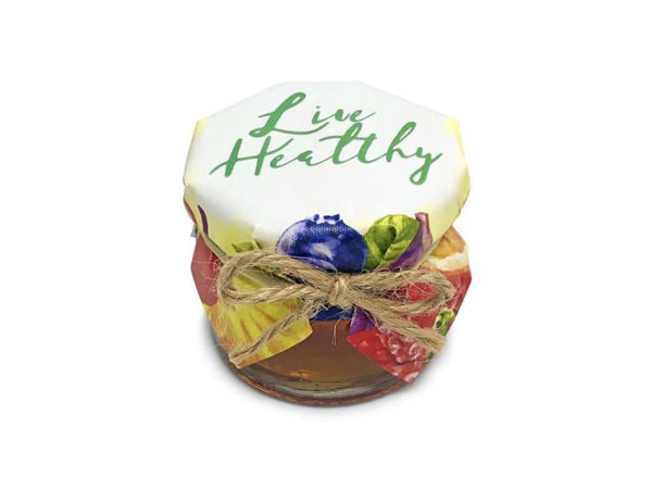 Picture of Live Healthy Honey Jar